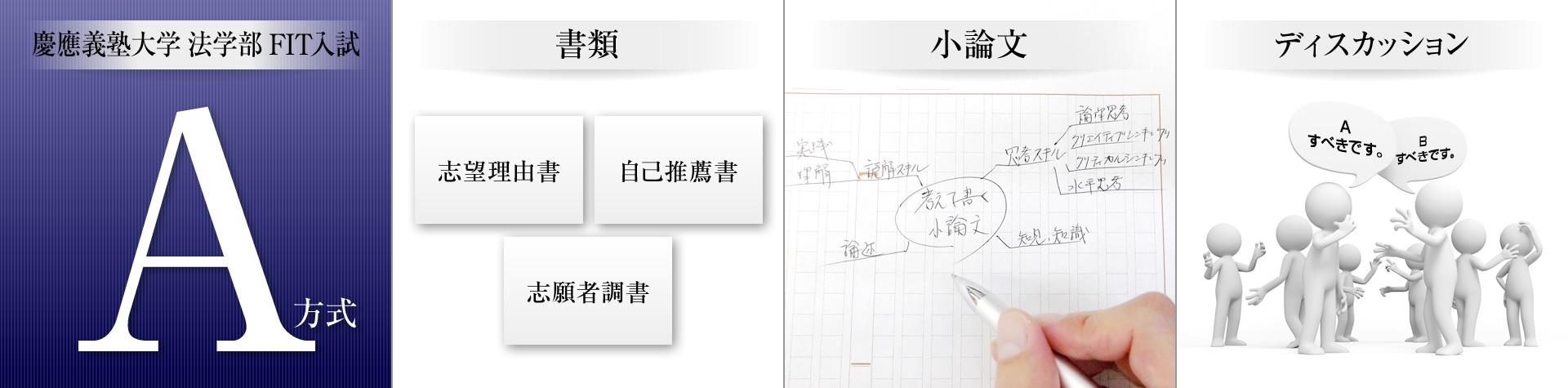 慶應義塾大学法学部 AO対策クラス 全国対応